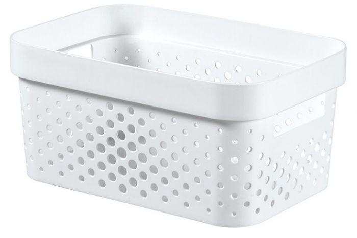 Curver Infinity Dots Box 4.5L White