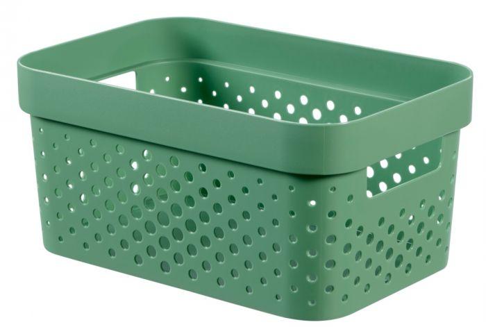 Curver Infinity Dots Box 4.5L Shale Green