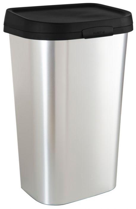 Curver Minstral Flat Bin 50L Silver