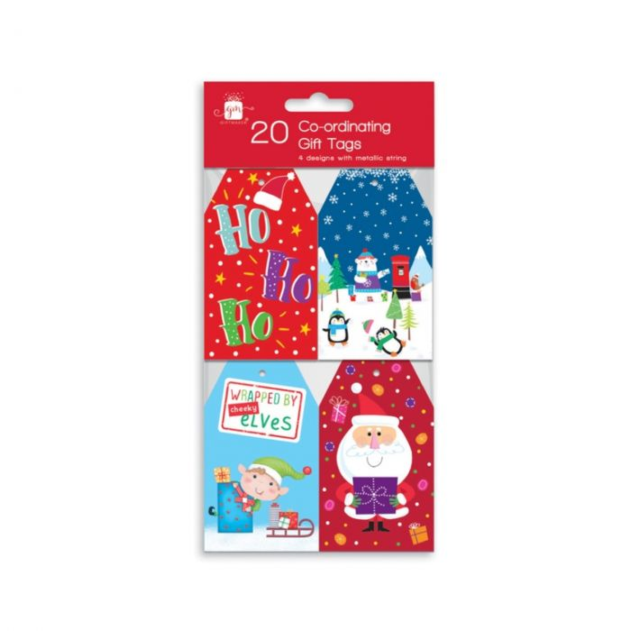 20 Gift Tags