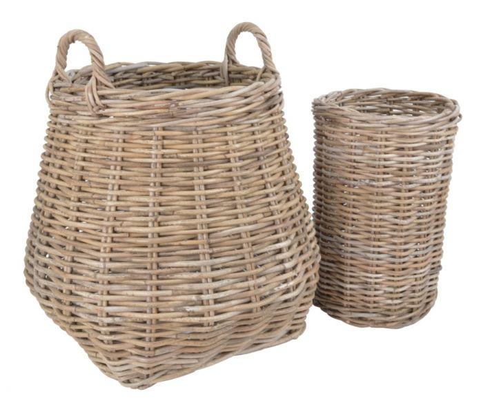 Berkeley Rattan Basket