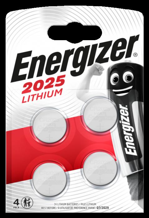 Lithium Cr2025 Batteries