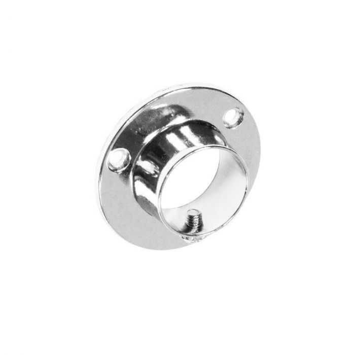 Chrome End Socket With Screw