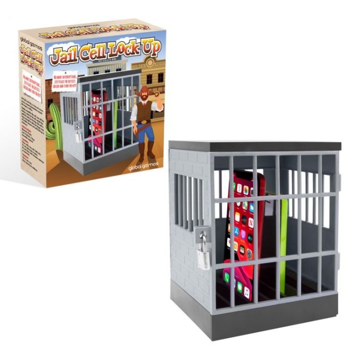 Phone Jail Cell Lock Up