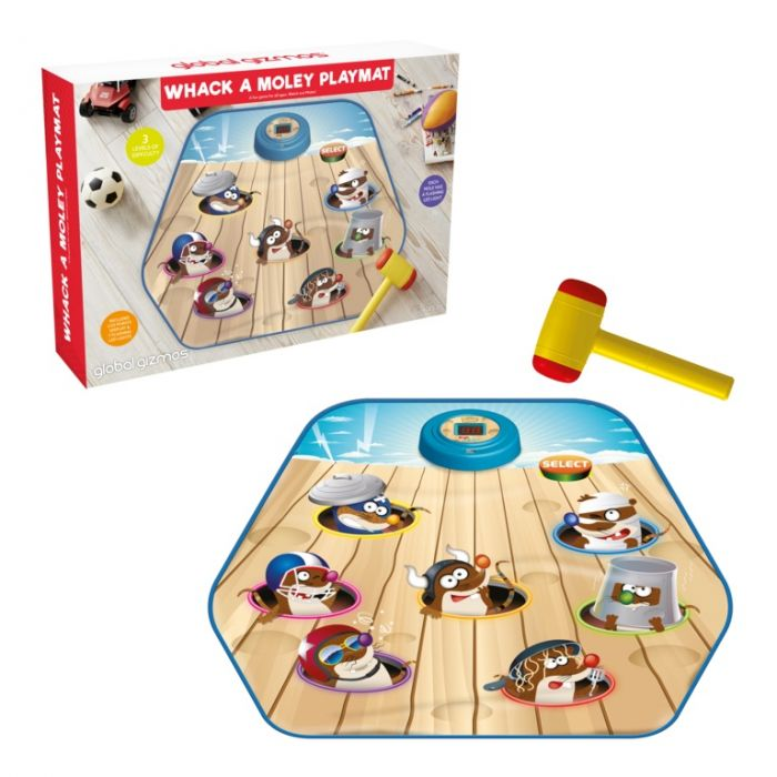 Whack-A-Moley Playmat
