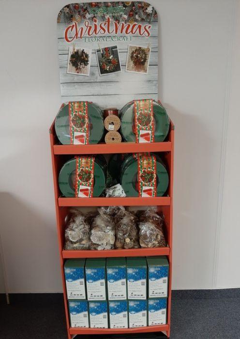 Wreath Kit Christmas Display Unit