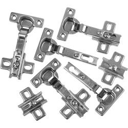 Supafix Cabinet Hinge Nickel Plated - Wh 35Mm Pack 6