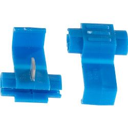 Supalec Insulating Connectors - Wire Lock Blue