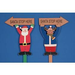 Santa Stop Board