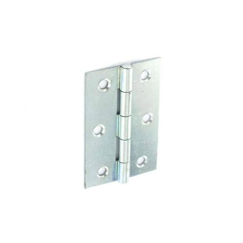 Securit Steel Butt Hinges Zinc Plated 75Mm 20 Pack