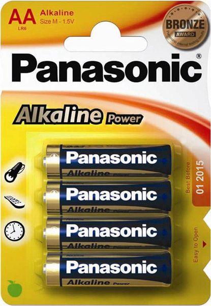 Panasonic Alkaline Aa Pack 4