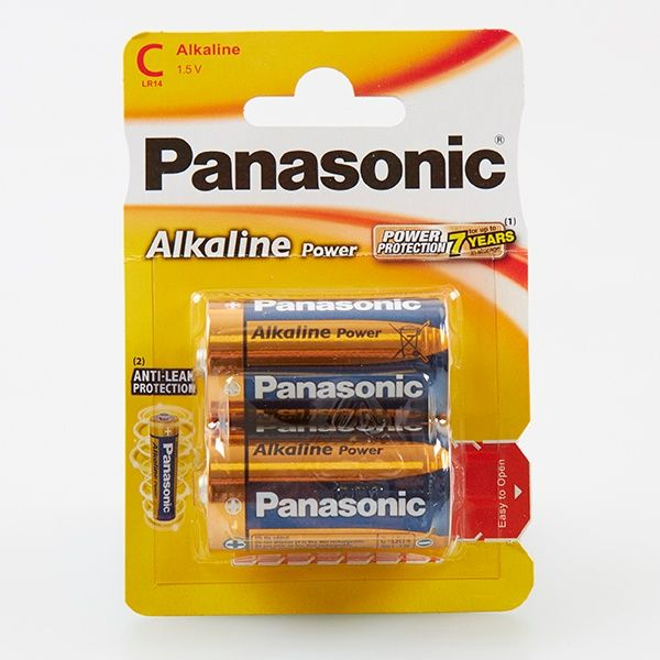 Panasonic Alkaine C Cell Lr14