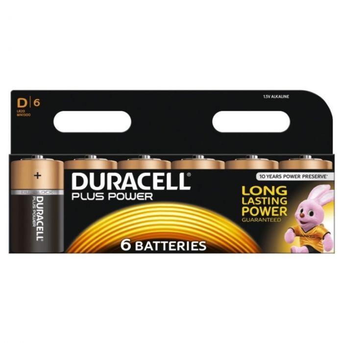 Duracell Duracell Plus Batteries D Pack 6
