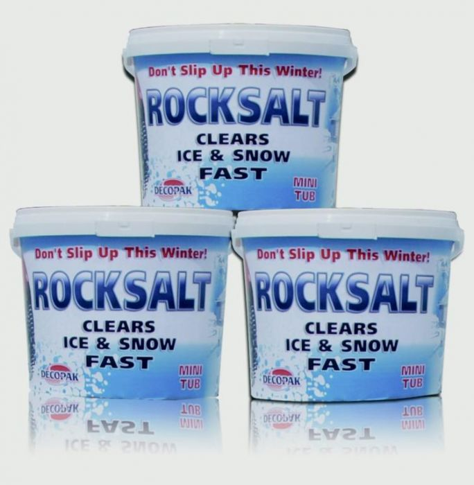 White Rock Salt Mini Tub