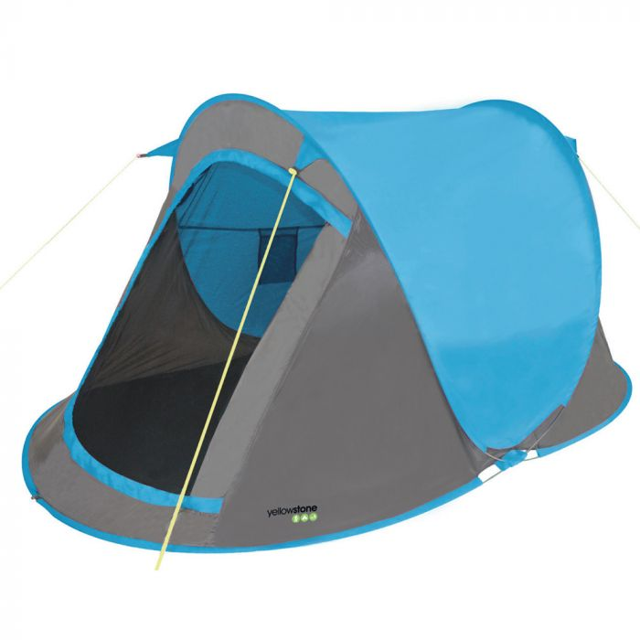 Yellowstone Fast Pitch Tent Blue 2 Man