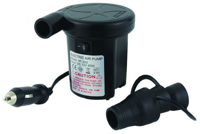 Yellowstone Tornado Compact Electric Pump With Car Charger 12V
