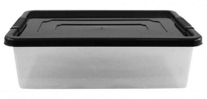 Tml 32L Underbed Storage Box With Ebony Lid