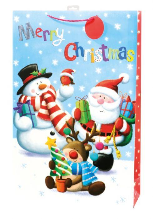 Cute Santa Character Paper