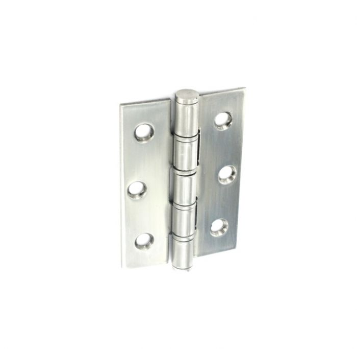 Securit Polished Stainless Steel Hinges 75Mm 1 Pair