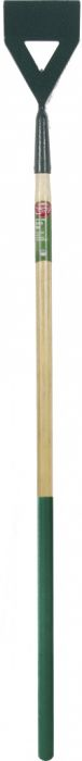 Ambassador Carbon Steel Dutch Hoe With Wooden Handle Length: 138Cm