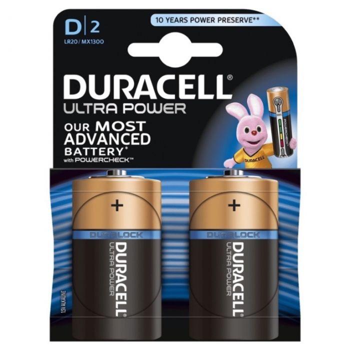 Duracell Ultra Power D Size
