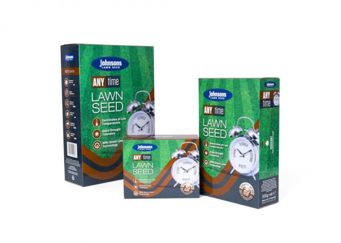 Johnsons Lawn Seed Any Time 60Sqm