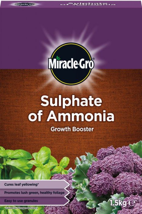 Miracle-Gro Sulphate Of Ammonia 1.5Kg