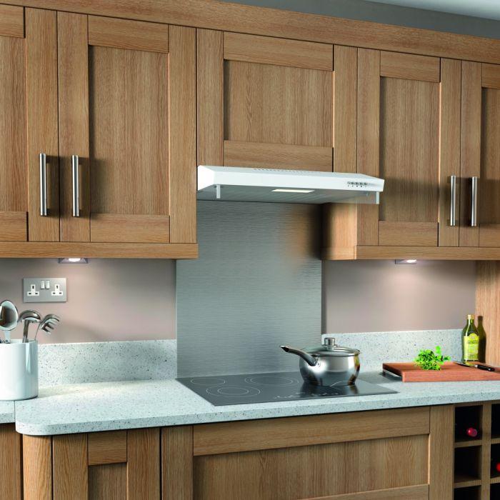 Kitchenplus White Extractor 60Cm