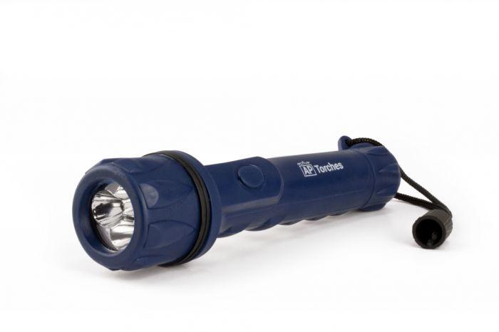 Active Rubber Torch 2Aa 10 Metre Beam