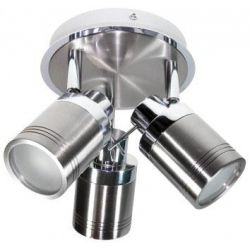 Powermaster 3 Light Ip44 Bathroom Spot Gu10