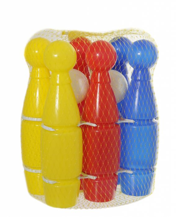 Hti Toys Traditional Games Skittles 6 X 28Cm