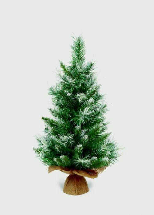 Burlap Table Green Tree