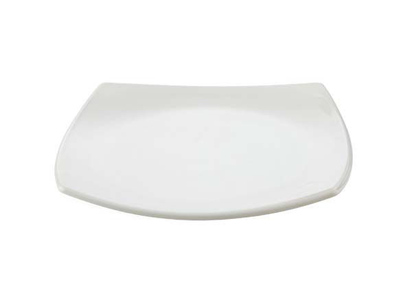 Quadrato Side Plate White