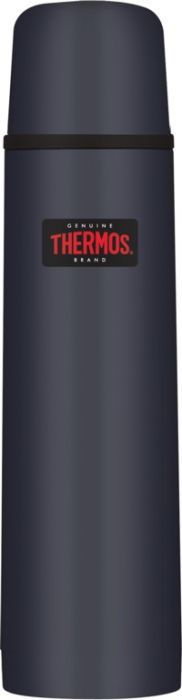 Thermos Light And Compact Flask 1L Midnight Blue�