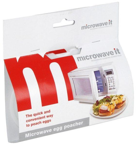 Microwave It Egg Poacher White