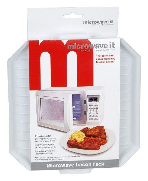Microwave It Bacon Crisper
