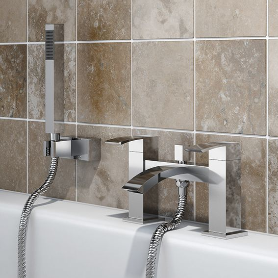 Sp Aero Bath Shower Mixer Tap W: 229Mm H: 141Mm D: 141Mm