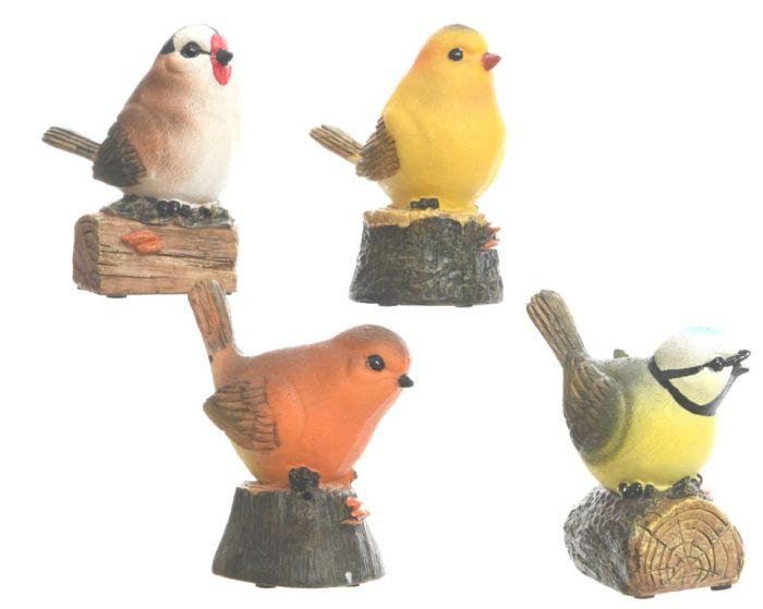 Kaemingk Poly Bird With Sensor Natural