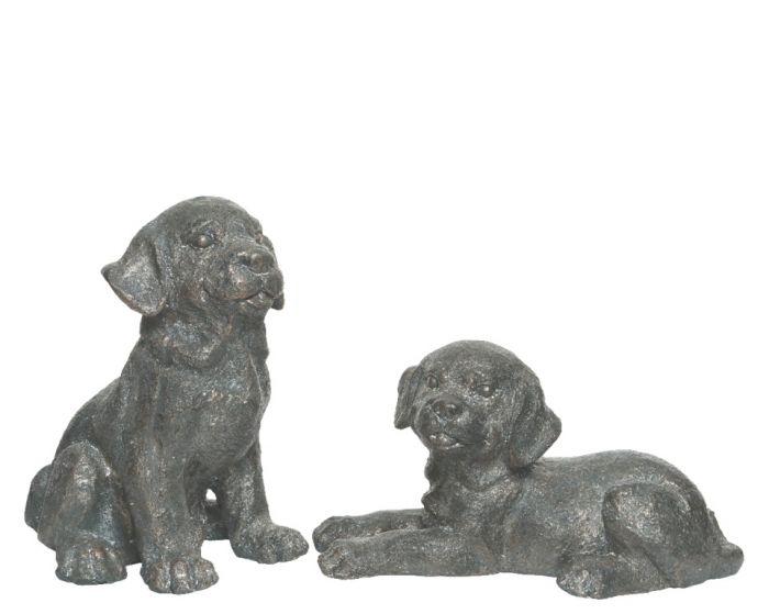 Kaemingk Poly Magnesium Dog Antique Copper