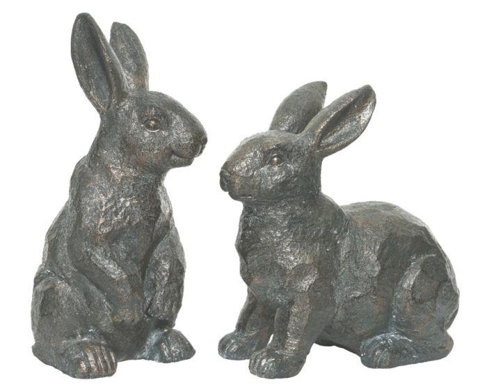 Kaemingk Poly Magnesium Rabbit Antique Copper