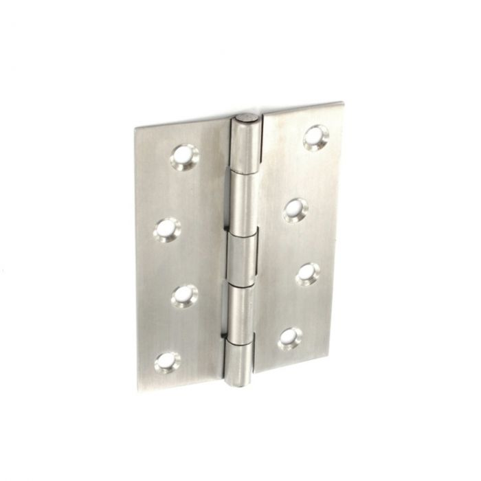 Securit Stainless Steel Satin Butt Hinges 100Mm