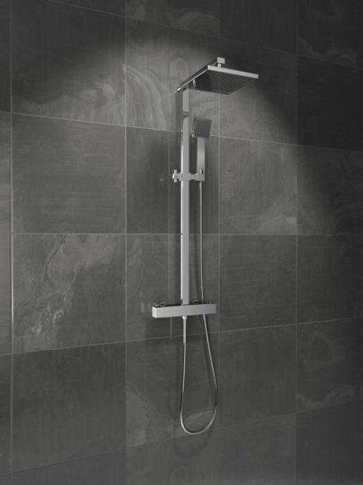 Sp Malvern Thermostatic Bar Mixer Shower