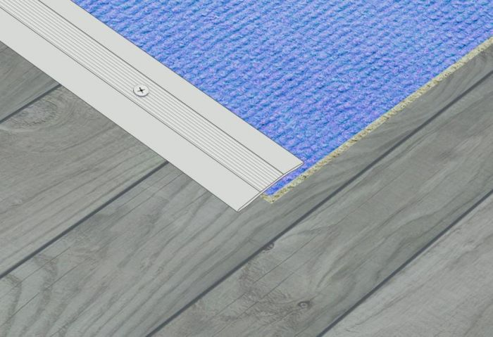 Supadec Aluminium Contract Coverstrip 900Mm X 37Mm