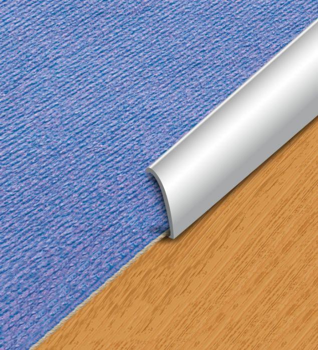 Supadec Aluminium Floor Carpet Edge 30X900mm