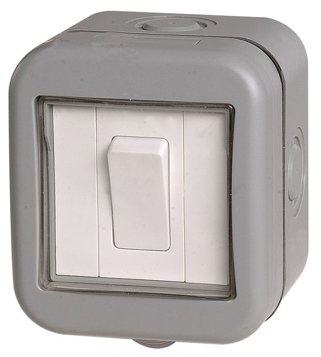 Bg Weatherproof Ip55 20A 1 Gang Switch