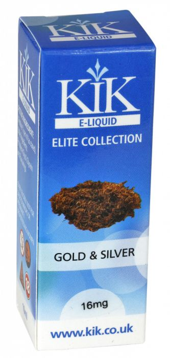 Kik E-Liquid Gold/Silver 10Ml 16Mg