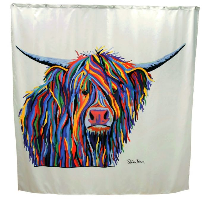 Croydex Shower Curtain Angus Mccoo
