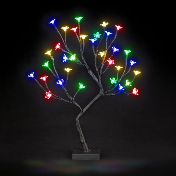 Led Cherry Blossom Tree Battery Operated