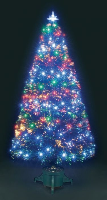 Fibre Optic Galaxy Tree