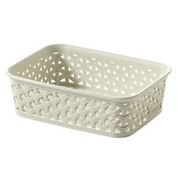 Curver My Style Rattan Tray Vintage White A6